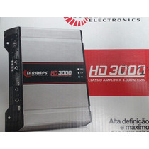 Potencia Automotiva Taramps Dsp3000 3000w Rms 1 Canal 1 Ohm