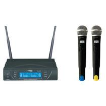 Microfone Duplo Tag Sound Tm 8034 Sem Fio(by Tagima)