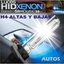 Kit Luces Bixenon H4 6000k Oferta+ Led Regalo X2 Garantia