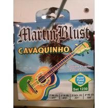 Encordado Cuerdas Martin Blust Para Cavaquinho