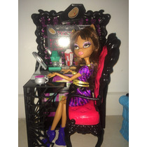 Monster High Clawdeen Wolf/2011 Original/ Boneca E Cafeteria