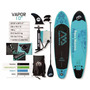 Stand Up Paddle Sup Tabla Inflable Aquamarina Vapor 10