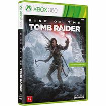 Jogo Xbox 360 Rise Of The Tomb Raider - Mid Fisica Lacrado