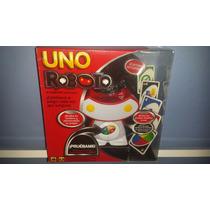 Uno Roboto Mattel Cartas Y Robot