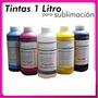 Tinta Sublimacion Por Litro, Color A Eleccion,para Sublimar-