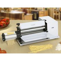 Cilindro Massa Laminador Pastel Pizza+cortador Talharim 30cm