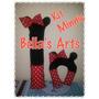 Kit Protetores Pescoço+cinto Segurança Minnie Ou Mickey