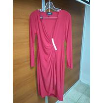 Vestido Rojo Talla L Mujer