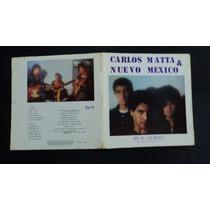 Carlos Matta & Nuevo Mexico En El Camino 1982 Lp Rock Mexico