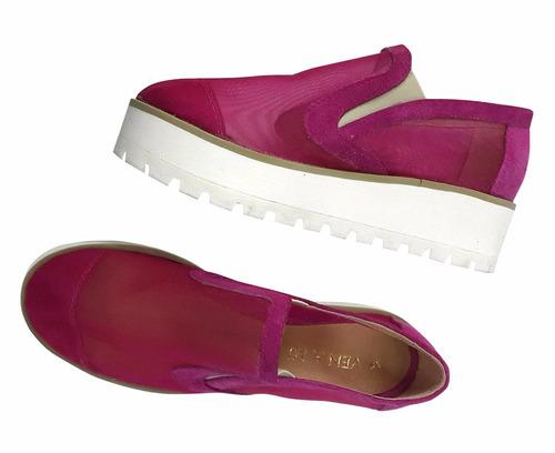 Panchas Alpargatas Plataforma Zapato Mujer Super Cómodas