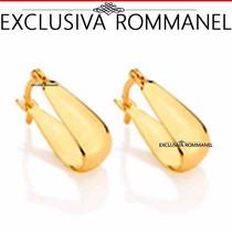 Rommanel Brinco Argola Lisa Formato U 522906