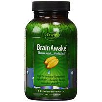 Irwin Naturals Cerebro Despierto Dieta Suplemento 60 Unidade