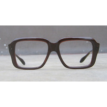 Lentes Geek Nerd Unsigned Made In Usa, 1970, Cuadrado