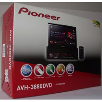 Dvd Player Pioneer Retratil Avh-3880dvd Usb Frontal Auxiliar