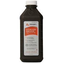 El Peróxido De Hidrógeno Antiséptico Solución 16 Oz