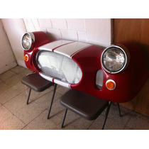 Frente Shelby Cobra Decorativo Para Pared Con Luz Led