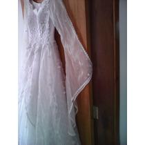 Vestido De Noiva Estilo Medieval Com Bordado