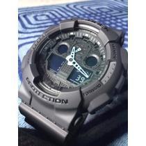 Reloj Casio G Shock Ga 100c 8adr Semi Nuevo