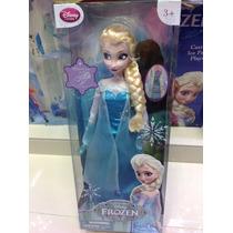 Muñecas De Disney De Frozen Elsa Es Musical Mide 39 Cm !