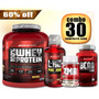 Whey Kit Suplementos Musculares- Secar E Crescer Body Action