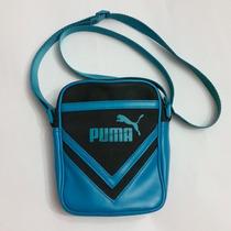 Cartera Negra Con Azul Marca Puma