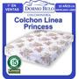 Oferta! Colchón Cannon Princess 20 Cm Alto 1,30 X 1,90mt