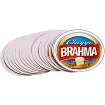 Bolacha (porta Copo) Chopp Brahma Kit Com 100 Unidades