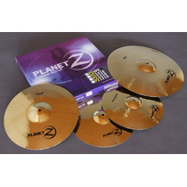 Set Platillos Bateria Zildjian Pz4pk 14 Hh 16 Crash 20 Ride