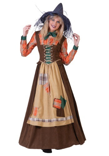 disfraz mujer espantapajaros