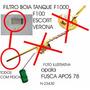 Filtro Peneira Pescador Boia Tanque Fusca F100 F1000 Opala
