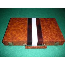Juego De Backgammon De Cuero Ecologico