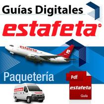 Guía Digital 1-2 Días Estafeta 1kg Electrónica Prepagada Mma