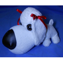 Peluche Perro French Poodle Blanco, Tipo The Dog Grande!!
