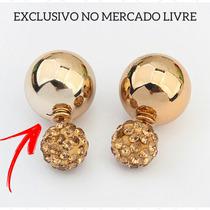 Brinco Dior Barato Inspired Banhado18k Pérola Atacado