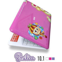 Mini Netbook Infantil Tela 10 Android 4.1 Hdmi 3g Cam 8gb