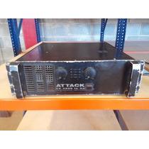 Amplificador Potencia Attack Ex2800 -164- Rey Do Audio