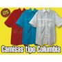 Camisas Tipo Columbia Unicolor De Dama Para Uniformes,bordar