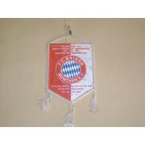 Banderin Autografiado Bayern Munich De Alemania Años 70s
