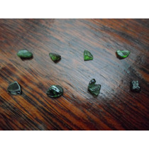 Lote De 8 Turmalina Verde Naturais Brutas - Pedras Preciosas