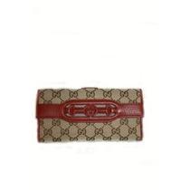Cartera Gucci Leather Ifs Para Mujer