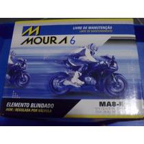 Bateria Moto Moura Ma8 Ytx9-bs Yuasa Kawasaki Z750 Z 750