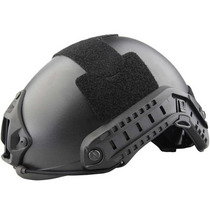 Capacete Tático Emerson Tactical Fast Jump Black
