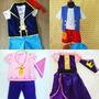 Fabuloso Disfraz De Izzy Jake El Pirata Pais De Nunca Jamas