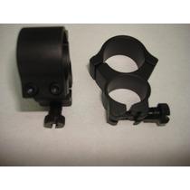 Anillos Anilletas Bases Para Miratelescopica Lente 25.4mm