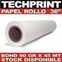 Rollo Papel Bond 36 X 150