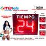 Temporizador, Timer, Reloj Led P/futbol 5, Basquet, Y Mas
