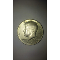 Moneda Antigua Usa Kennedy 1/2 Medio Dolar 1964-1971