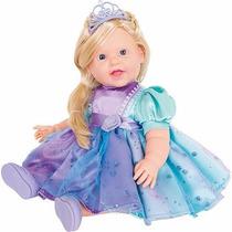 Boneca Charmosa Princesas Loira - Cotiplás 2051