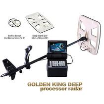 Detector De Metales Y Tesoros - Golden King Imagen 3d