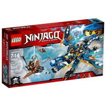 70602 - Lego Ninjago - Dragão Elemental Do Jay